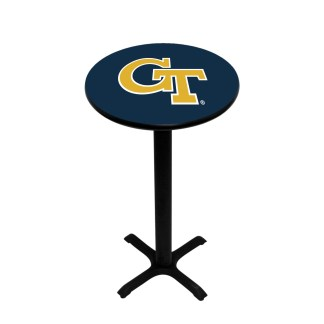 Georgia Tech Yellow Jackets College Logo Pub Table | moneymachines.com