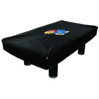 Kansas Jayhawks Billiard Table Cover | moneymachines.com