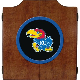 Kansas Jayhawks College Logo Dart Cabinet | moneymachines.com