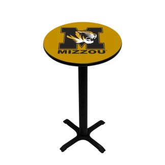 Mizzou Tigers College Logo Pub Table | moneymachines.com