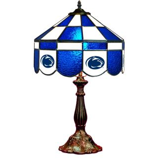 Penn State Nittany Lions Stained Glass Table Lamp   moneymachines.com