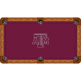 Texas A&M Aggies Billiard Table Cloth | moneymachines.com