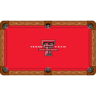 Texas Tech Red Raiders Billiard Table Cloth | moneymachines.com
