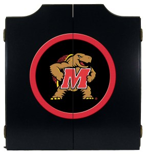Maryland Terrapins College Logo Dart Cabinet | moneymachines.com