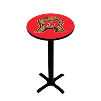 Maryland Terrapins College Logo Pub Table | moneymachines.com