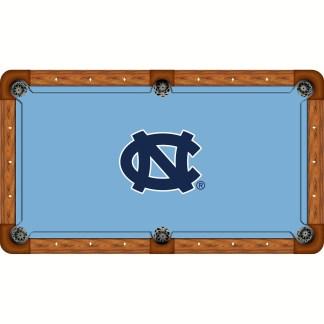 North Carolina Tar Heels Billiard Table Cloth | moneymachines.com