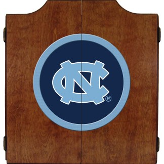 North Carolina Tar Heels College Logo Dart Cabinet | moneymachines.com