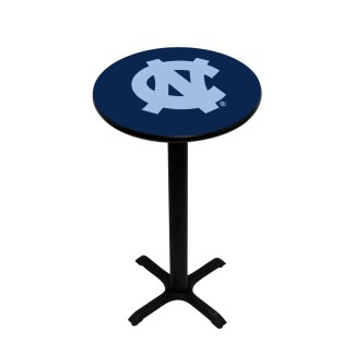 North Carolina Tar Heels College Logo Pub Table | moneymachines.com
