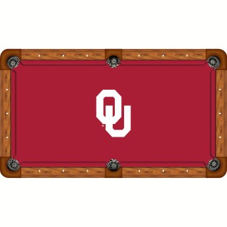 Oklahoma Sooners Billiard Table Cloth | moneymachines.com