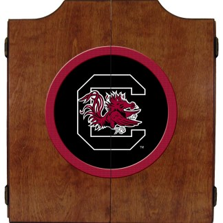 South Carolina Gamecocks College Logo Dart Cabinet | moneymachines.com