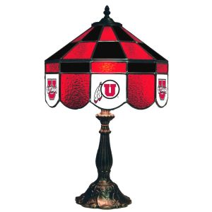 Utah Utes Stained Glass Table Lamp | moneymachines.com