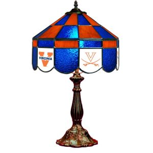 Virginia Cavaliers Stained Glass Table Lamp | moneymachines.com