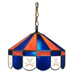 Virginia Cavaliers Stained Glass Swag Hanging Lamp   moneymachines.com