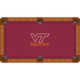 Virginia Tech Hokies Billiard Table Cloth | moneymachines.com
