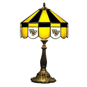 Wake Forest Demon Deacons Stained Glass Table Lamp | moneymachines.com