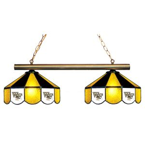 Wake Forest Demon Deacons Stained Glass Game Table Lamp | moneymachines.com