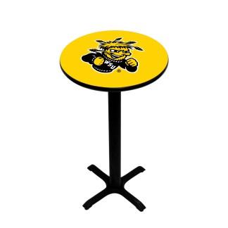Wichita State Shockers College Logo Pub Table | moneymachines.com