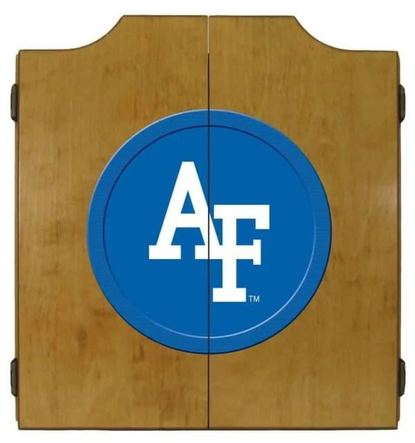 Air Force Falcons College Logo Dart Cabinet | moneymachines.com