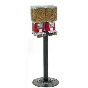 Deluxe Double Animal Feed Vending Machines and Stand | moneymachines.com