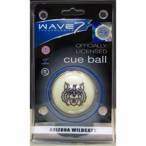 Arizona Wildcats Billiard Cue Ball | moneymachines.com