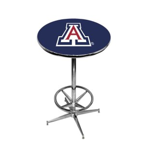 Arizona Wildcats College Logo Pub Table | moneymachines.com