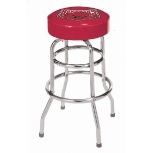 Arkansas Razorbacks College Logo Double Rung Bar Stool | moneymachines.com