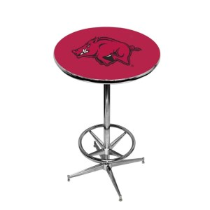 Arkansas Razorbacks College Logo Pub Table | moneymachines.com