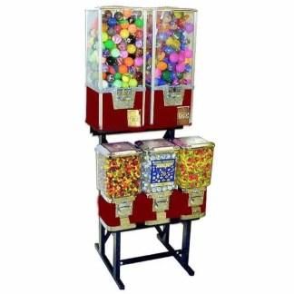 Big Pro 5 Unit Combo Vending Machine Rack Stand   moneymachines.com