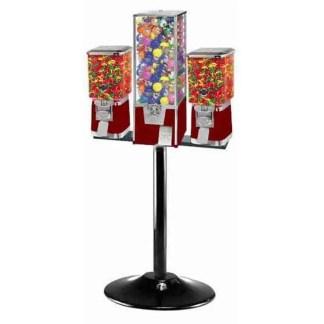 Big Pro Triple Combo Vending Rack Stand   moneymachines.com