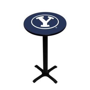 Brigham Young Cougars College Logo Pub Table | moneymachines.com