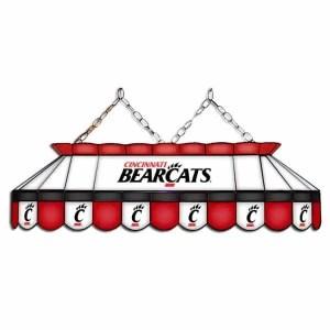 "Cincinnati Bearcats MVP 40"" Tiffany Stained Glass Pool Table Lamp | moneymachines.com"