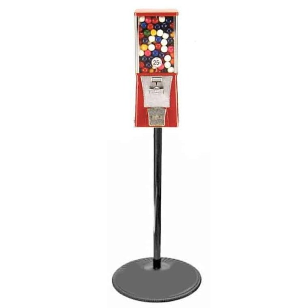 Eagle Cabinet Vending Machine on Black Pipe Stand Combo   moneymachines.com
