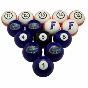 Florida Gators Billiard Ball Set | moneymachines.com