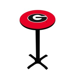 Georgia Bulldogs College Logo Pub Table | moneymachines.com