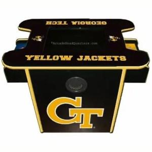 Georgia Tech Yellow Jackets Arcade Multi-Game Machine | moneymachines.com