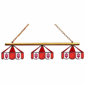Indiana Hoosiers Stained Glass Game Table Lamp | moneymachines.com