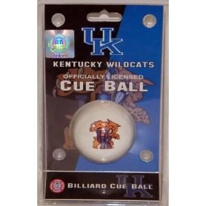 Kentucky Wildcats Billiard Cue Ball | moneymachines.com