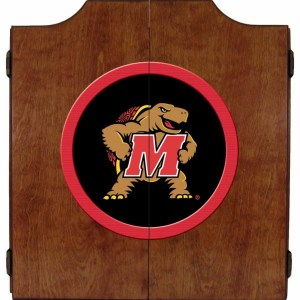 Maryland Terrapins College Logo Dart Cabinet | moneymachines.com