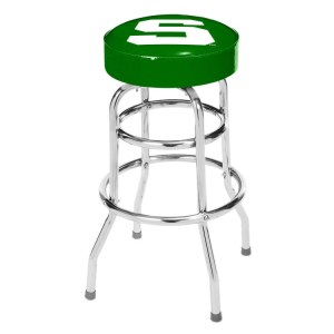 Michigan State Spartans College Logo Double Rung Bar Stool | moneymachines.com