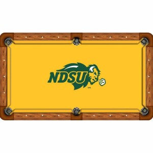 North Dakota State Bisons Billiard Table Cloth   moneymachines.com