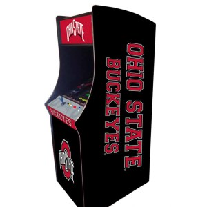 Ohio State Buckeyes Arcade Multi-Game Machine | moneymachines.com
