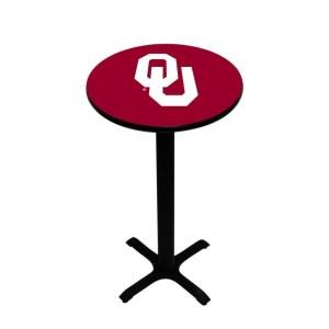 Oklahoma Sooners College Logo Pub Table | moneymachines.com