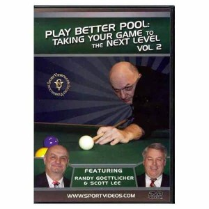 Play Better Pool DVD Volume 2 | moneymachines.com