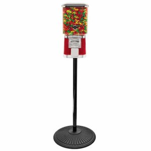 Pro Line Gumball Vending Machine On Cast Iron Stand | moneymachines.com