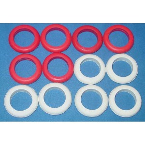 Set of 12 Standard Size Bumper Pool Table Bumper Rings | moneymachines.com
