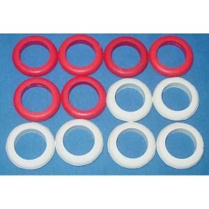 Set of 12 Standard Size Bumper Pool Table Bumper Rings | moneymachines.com