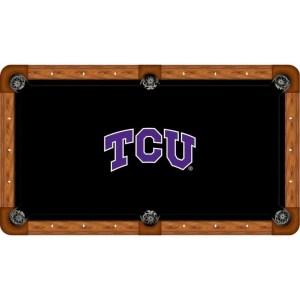 TCU Billiard Table Cloth | moneymachines.com