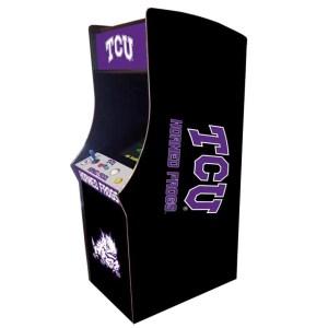 TCU Horned Frogs Arcade Multi-Game Machine | moneymachines.com