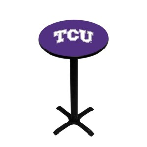 TCU Horned Frogs College Logo Pub Table | moneymachines.com