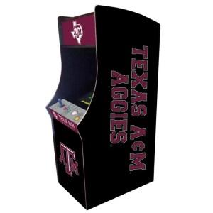Texas A&M Aggies Arcade Multi-Game Machine | moneymachines.com